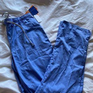 NWT Landau Scrub bottoms TALL small. Ceil Blue
